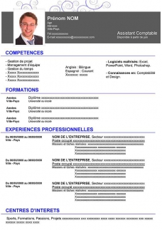 exemple de cv gratuit word