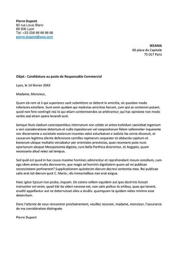 Exemple D Email De Candidature Université Formations