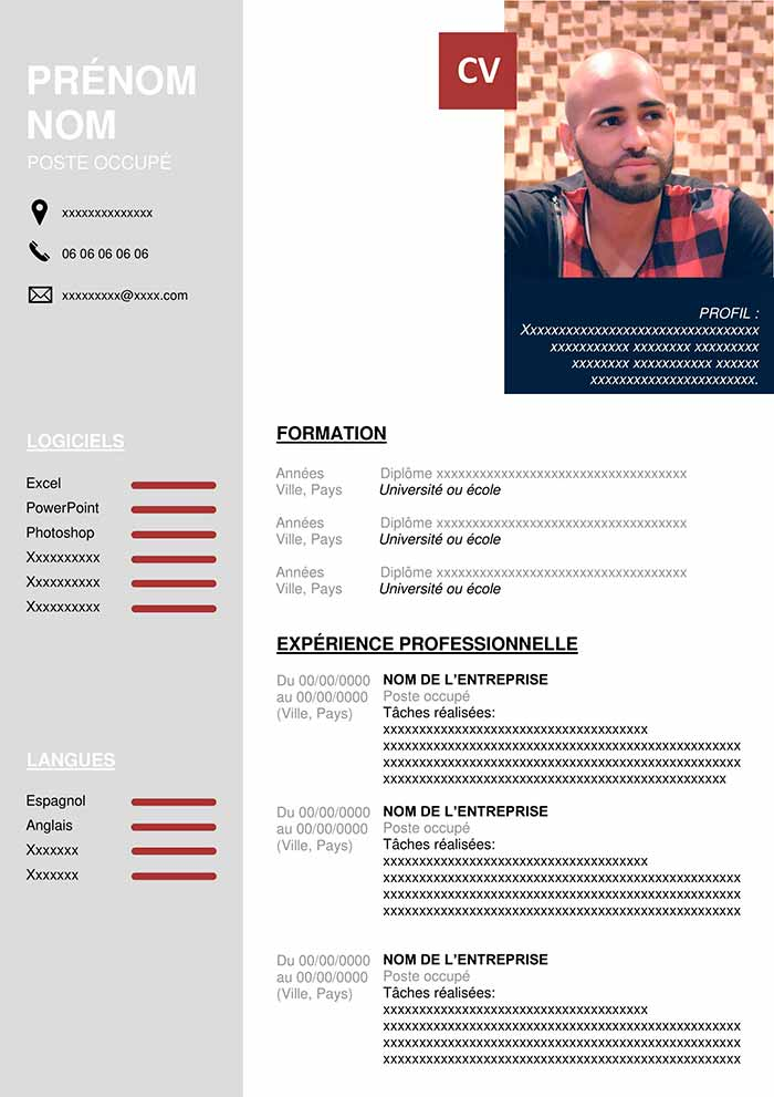 cv developpeur web