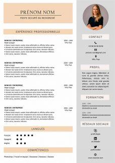 modèle cv original apec en ligne